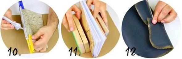 Как сделать кожаные журналы ручной работы своими руками