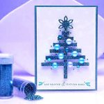 Cool Christmas cards: Glossy postcard