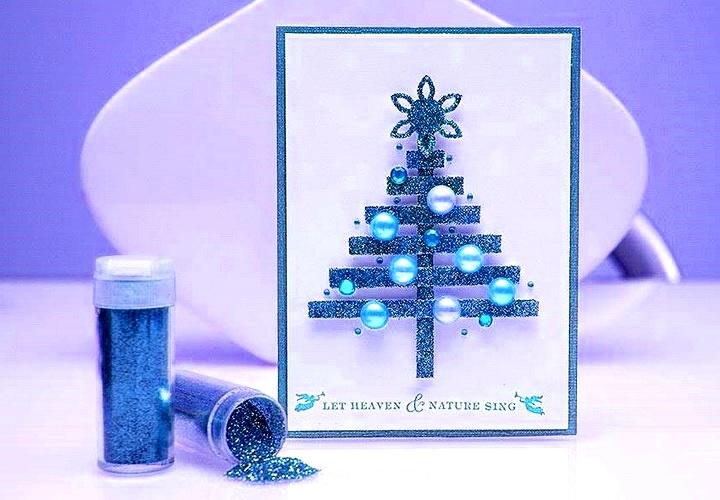 Cool Christmas Cards.Cool Christmas Cards Glossy Postcard Diy Is Fun